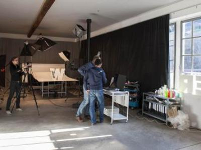 "Making of - Fotoshooting Casimir Kast ""Weiter denken"""